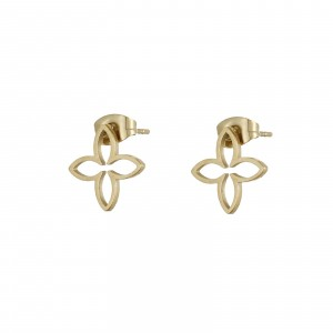 Kolczyki lilie, kolor złoty S2V71686-2Z