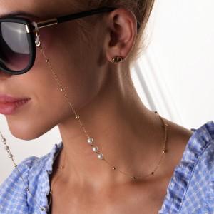 Łańcuszek do okularów perełki, kulki S3V72168-Z