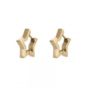 Kolczyki gwiazda, kolor złoty S2V71498-Z